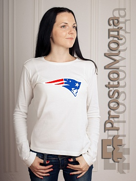 Женский лонгслив New England Patriots